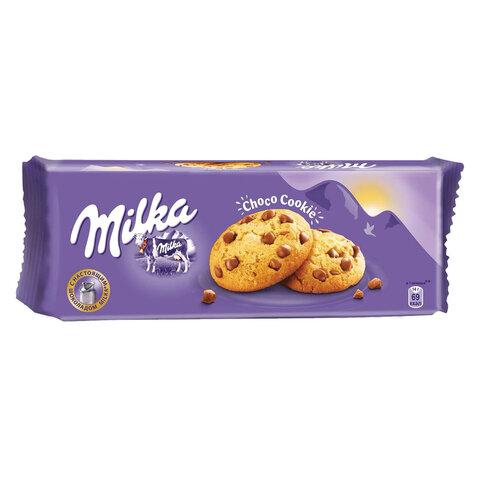 Печенье MILKA (Милка), сдобное, с кусочками шоколада, 168 г, 67731