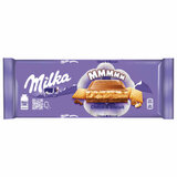 Шоколад MILKA (Милка), молочный, с шоколадной и молочной начинками и печеньем, 300 г, 69237