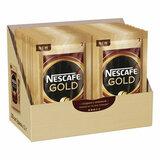 """Кофе молотый в растворимом NESCAFE """"Gold"""", сублимированный, 30 пакетиков по 2 г (упаковка 60 г), 12402477"""
