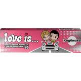Жевательная конфета LOVE IS со вкусом Клубники, 25 г, 70292