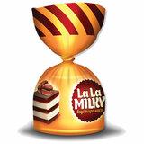 """Конфеты шоколадные БОГАТЫРЬ """"La La MILKY"""" с молочно-желейной начинкой """"Тирамису"""", 1 кг, ПР6612"""