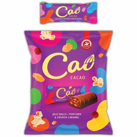 Конфеты шоколадные CAO с мармеладом, взрывной карамелью и кукурузными хлопьями, 1 кг, ПР7057