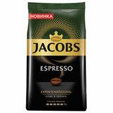 """Кофе в зернах JACOBS """"Espresso"""", 1000 г, вакуумная упаковка, 8051104"""