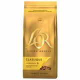 """Кофе в зернах L'OR """"Crema Absolu Classique"""", 1000 г, вакуумная упаковка, 8051298"""