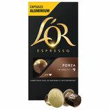 """Кофе в алюминиевых капсулах L'OR """"Espresso Forza"""" для кофемашин Nespresso, 10 порций, 4028605"""
