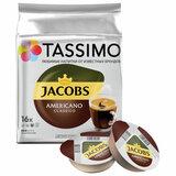 Кофе в капсулах JACOBS Americano для кофемашин Tassimo, 16 порций, 4000857