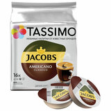 Кофе в капсулах JACOBS Americano для кофемашин Tassimo, 16 шт. х 9 г, 4000857