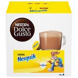 """Какао в капсулах NESCAFE """"Nesquik"""" для кофемашин Dolce Gusto, с молоком, 16 шт. х 16 г, 12395760"""