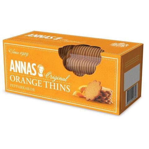 Печенье песочное апельсиновое тонкое ANNAS