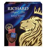 """Чай RICHARD """"Royal Kenya"""", черный, 100 пакетиков по 2 г, 100438"""