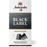 """Кофе в капсулах AMBASSADOR """"Black Label"""", для кофемашин Nespresso, 10 шт. х 5 г"""