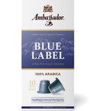 """Кофе в капсулах AMBASSADOR """"Blue Label"""", для кофемашин Nespresso, 10 шт. х 5 г"""