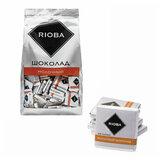 Шоколад порционный RIOBA Молочный 32%, 800 г, пакет, 366305