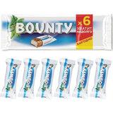 Шоколадные батончики BOUNTY мультипак, 6 шт. по 27,5 г (165 г), 10227314