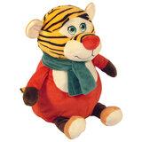 """Подарок новогодний """"Тигр Ред"""", 700 г, НАБОР конфет, мягкая игрушка, У-12824Y"""