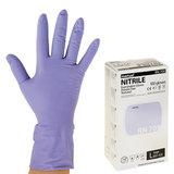 Перчатки нитриловые смотровые, КОМПЛЕКТ 50 пар (100 шт.), повышенная прочность, L, MANUAL RN709, RN709-03