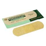 Лейкопластырь бактерицидный LEIKO комплект 1000 шт., 2,5х7,2 см, на нетканой основе, телесного цвета, 213876