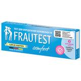 Тест на определение беременности FRAUTEST COMFORT, кассета с колпачком, 1 шт., 102010041