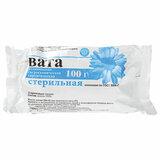 Вата хирургическая стерильная НИКА 100 г