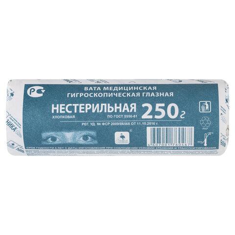 Вата глазная нестерильная НИКА 250 г