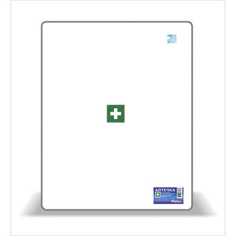 Аптечка первой помощи работникам, до 10 человек, навесной пластиковый футляр, состав - по приказу №1331н, АРШП