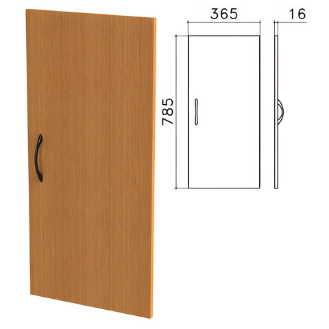 Дверь ЛДСП низкая