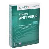 "Антивирус KASPERSKY ""Anti-Virus"", лицензия на 2 ПК, 1 год, бокс"