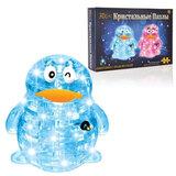 """Игрушка развивающая 3D Crystal Puzzle """"Пингвин"""", светильник, XL, 62 элемента, цвет ассорти, HJ050741"""
