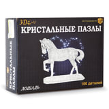 """Игрушка развивающая 3D Crystal Puzzle """"Лошадь"""", XL, 100 элементов, HJ042221"""