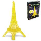 """Игрушка развивающая 3D Crystal Puzzle """"Эйфелева Башня"""", светильник, L, 24 элемента, TY94378A"""
