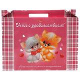 """Набор для первоклассника в подарочной упаковке HATBER """"Пушистики"""", Нп4 00060, Нп4_00060"""