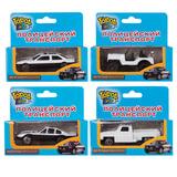 """Машинка железная """"Полицейский транспорт"""", 4 вида, ассорти, GI-6198"""