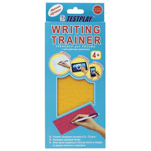 Тренажер для обучения письму, английский язык, TESTPLAY, Т-0091