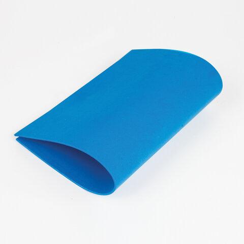 Цветная пористая резина (фоамиран) для творчества А4 ЮНЛАНДИЯ 5 ЯРКИХ ЦВЕТОВ, толщина 2 мм, с европодвесом, 662053