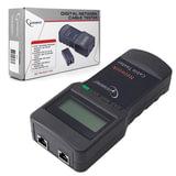 Тестер цифровой CABLEXPERT NCT-3, для сетевого, коаксиального и телефонного кабелей, разъемы RG-45/58, RJ-12/11