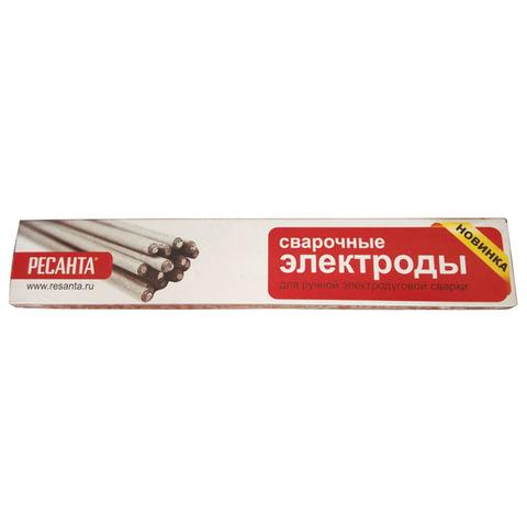 Электроды сварочные МР-3, РЕСАНТА, диаметр 5 мм, пачка 3 кг, 71/6/18