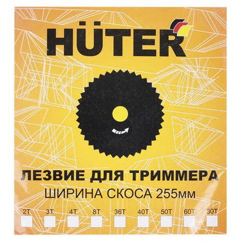 Нож для триммера, d-255 мм, 40 зубьев, европодвес, HUTER GTD-40T, 71/2/7