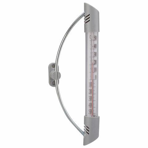 Термометр оконный, крепление стандартное, диапазон измерения от -50 до +50°C, ПТЗ, ТБ-209