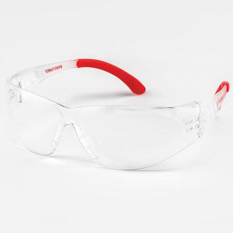 Очки защитные открытые РОСОМЗ О25 Hammer Universal super, прозрачные, защита от запотевания, устойчивы к химическим веществам, поликарбонат, 12530