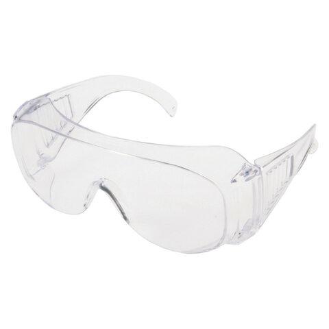 Очки защитные открытые РОСОМЗ О35 Визион, прозрачные, ударопрочный поликарбонат, 13511