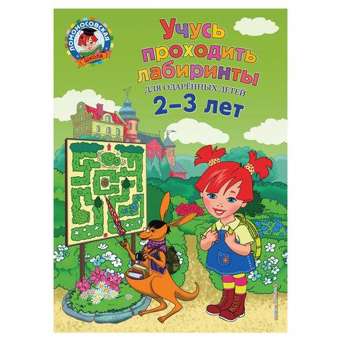 Учусь проходить лабиринты: для детей 2-3 лет, Сафина Ю.А., Родионова Е.А., 903630