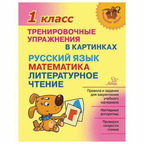 Тренировочные упражнения в картинках. 1 класс, Ушакова О.Д., 19708