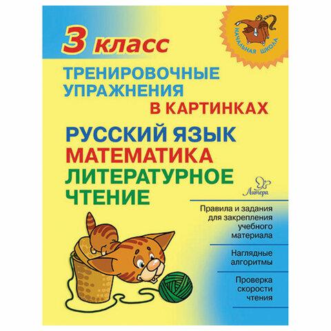 Тренировочные упражнения в картинках. 3 класс, Ушакова О.Д., 19710