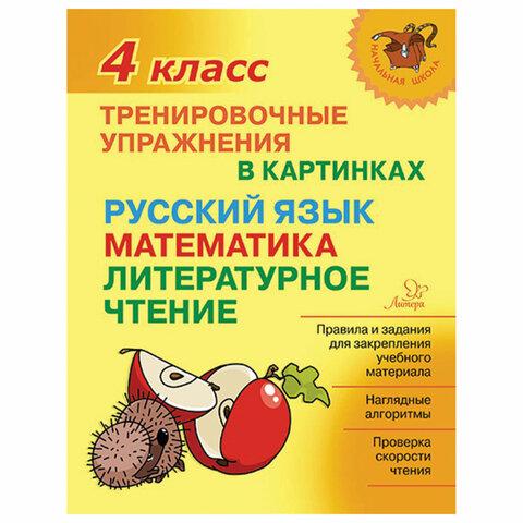 Тренировочные упражнения в картинках. 4 класс, Ушакова О.Д., 19711