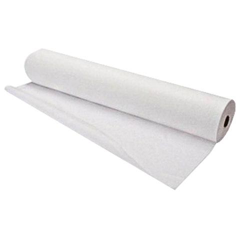 Простыни бумажные 50 м, 2 сл., белые, с перфорацией, 35х50 см, БС-2-ПР/50
