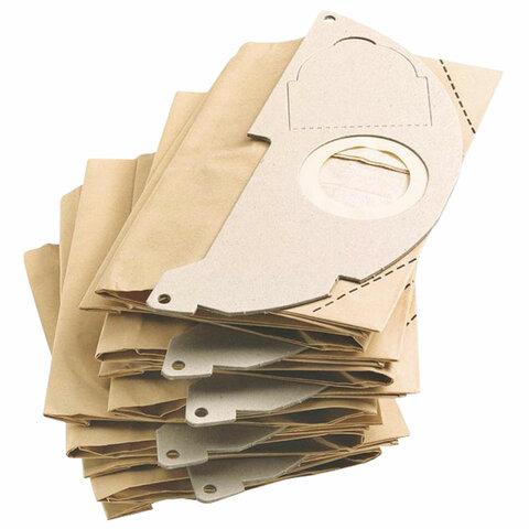 Пылесборники KARCHER (КЕРХЕР), КОМПЛЕКТ 5 шт., бумажные, для пылесосов 6.904-322.0