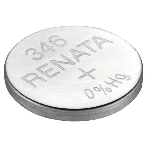 Батарейка RENATA, R346 (SR712SW), 1 шт., в блистере, T07631