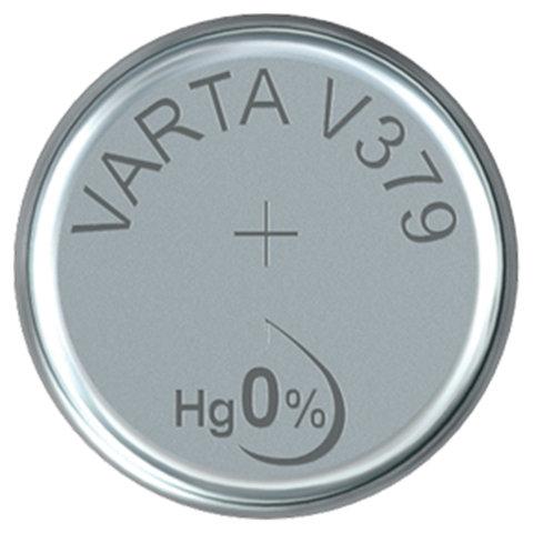 Батарейка VARTA, V379/SR63, 1 шт., в блистере