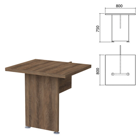 Модуль стола приставного
