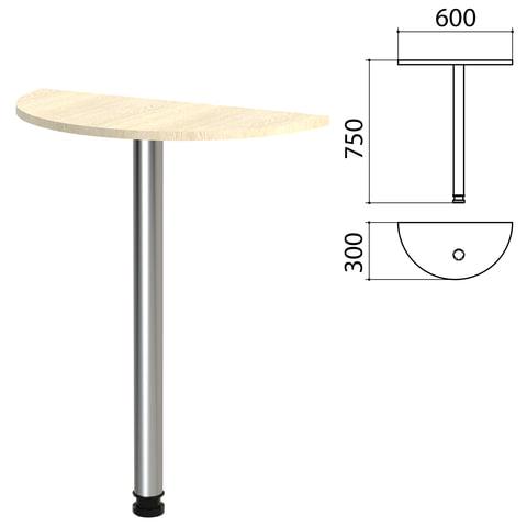 Стол приставной полукруг